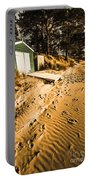 Summer Beach Shacks Portable Battery Charger