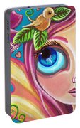 Summer Bliss Fairy Portable Battery Charger