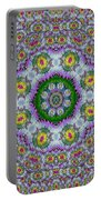 Summer Bloom In Floral Spring Time Portable Battery Charger