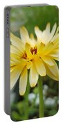 Summer Bloom Portable Battery Charger