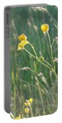 Summer Buttercups Portable Battery Charger