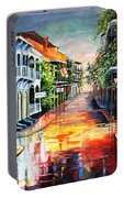 Summer Day On Royal Street Portable Battery Charger