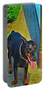 Summer Dog Day Portable Battery Charger