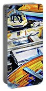 Summer Fishing Boats Portable Battery Charger