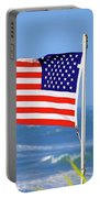 Summer Flag Portable Battery Charger