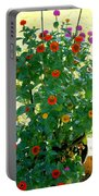 Summer Flowers 10 Portable Battery Charger