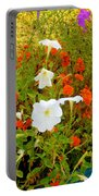 Summer Flowers 9 Portable Battery Charger