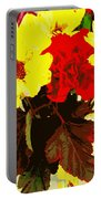 Summer Flowers Yellow Daisies Portable Battery Charger