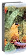 Summer Goldfinch - Digital Paint 5 Portable Battery Charger