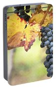 Summer Grapes Portable Battery Charger