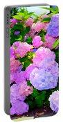 Summer Hydrangeas #2 Portable Battery Charger