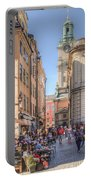Summer In The City Portable Battery Charger