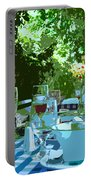 Summer Lunch Remembered Portable Battery Charger