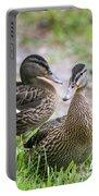 Summer Mallard Couple Portable Battery Charger
