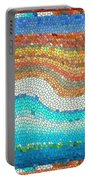 Summer Mosaic Portable Battery Charger