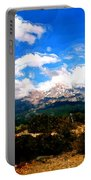 Summer On Mt. Shasta Portable Battery Charger