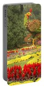 Summer Palace Flower Phoenix Portable Battery Charger