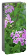 Summer Purple Flower Portable Battery Charger