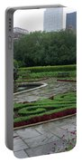 Summer Rain In The Conservatory Garden Portable Battery Charger