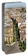 Summer Rooftops In Seville Spain Portable Battery Charger
