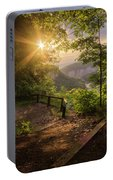 Summer Sunrise Portable Battery Charger