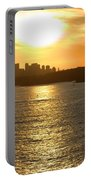 Summer Sunset In Sydney Portable Battery Charger