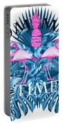 Summer Time Tropical  Portable Battery Charger