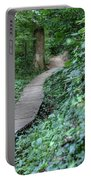 Summer Trail Path Portable Battery Charger