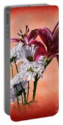 Summer Wild Flowers  Portable Battery Charger