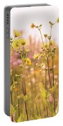 Summer Wildflower Field Of Sunflowers Portable Battery Charger