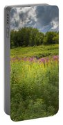 Summer Wildflower Pasture Portable Battery Charger