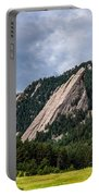 Summertime At The Flatirons Portable Battery Charger
