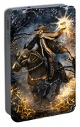 Summoned Skull Fantasy Art Portable Battery Charger