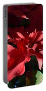 Sun Blushed Poinsettia  Portable Battery Charger