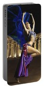 Sun Court Dancer Portable Battery Charger