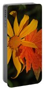 Sun Flower And Leaf Portable Battery Charger