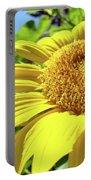 Sun Flower Art Sunlit Sunflower Giclee Prints Baslee Troutman Portable Battery Charger