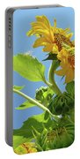 Sun Flower Artwork Sunflower 5 Giclee Art Prints Baslee Troutman Portable Battery Charger
