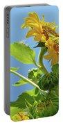 Sun Flower Artwork Sunflower 5 Giclee Art Prints Baslee Troutman Portable Battery Charger