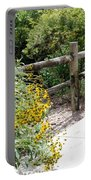 Sun Flower Fence Portable Battery Charger