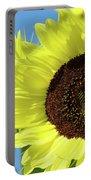 Sun Flower Garden Art Prints Sunflowers Baslee Troutman Portable Battery Charger