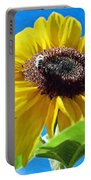 Sun Flower - Id 16235-142743-3974 Portable Battery Charger
