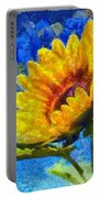 Sun Flower - Id 16235-142817-0801 Portable Battery Charger