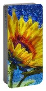 Sun Flower - Id 16235-142821-6349 Portable Battery Charger