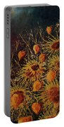 Sun Flowers And Physialis  Portable Battery Charger