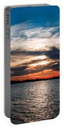 Sun Going Down Portable Battery Charger