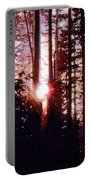 Sun In The Forest Two  Portable Battery Charger
