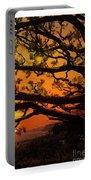 Sun Set At Rancho Palos Verdes, Cali Portable Battery Charger
