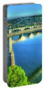 Sun Up Reflections Chattanooga Tennessee Portable Battery Charger