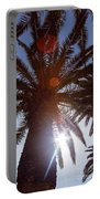 Sunbeams Through The Palms Portable Battery Charger